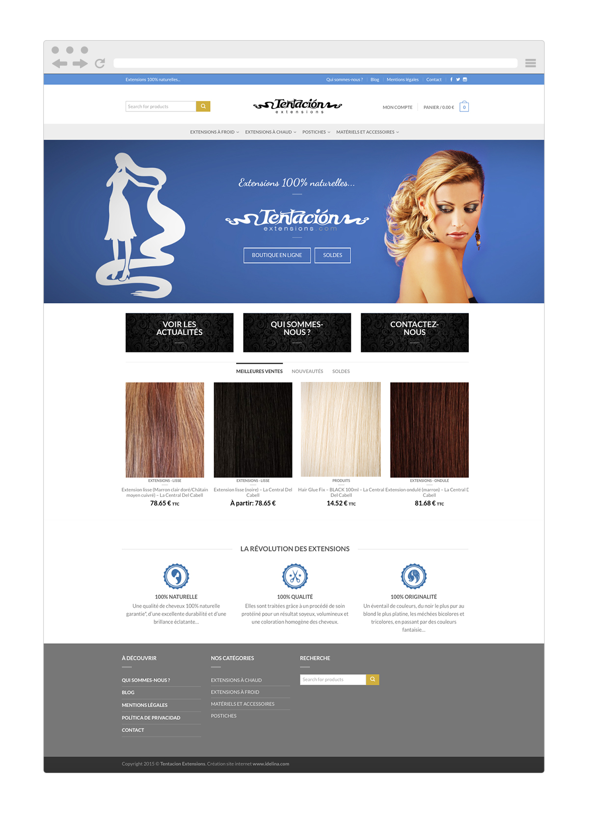 cr ation site internet ecommerce marion laplace photographe de mariage et portrait famille. Black Bedroom Furniture Sets. Home Design Ideas